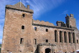 Linlithgow Palace Scotland So face