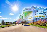 Mackinac Island Grand Hotel by Katharine Rose Witt