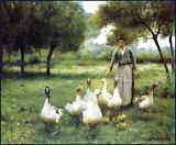 The Goose Keeper ~ Thérèse-Marthe-Françoise Cotard-Dupré