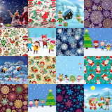 Christmas Children Collage