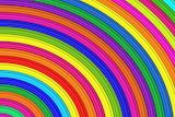 ☺♥ Rainbow colours...