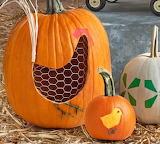 Chicken-Wire-pumpkin-carving-halloween