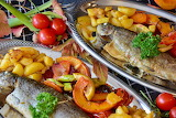 healthy food-trout