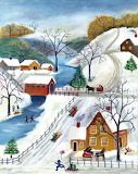 ^ Cheryl Bartley ~ Winter Wonderland Home for the Holidays