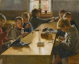 Albert Edelfelt,  The Boys inWorkhouse, 1885