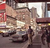 NEW YORK 1970S 7TH AVE. AND 47TH