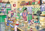 ^ Baking Day ~ Val Goldfinch