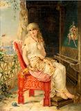Penelope Awaiting Odysseus~ Heva Coomans 2