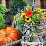 Bouquet with Pumpkin