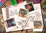 Disney Pixar Sketches