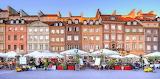 A Market In Warsaw