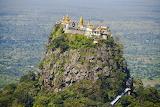 Taung Kalat Monastery, Mount Popa, Myanmar