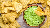 ^ Guacamole and chips