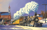 Winter Arrival~ Trains