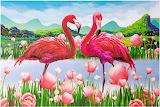 Pink Flamingo's~