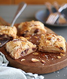 Apple cherry strudel