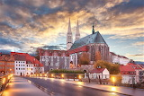 Night lights Gorlitz Germany