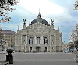 Teatro dell'Opera e Balletto in Lviv, Ucraina