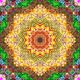 Colorful mandala abstract kg01