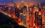 china-hong-kong-night