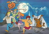Scooby doo halloween picture
