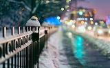 Winter snowy city2