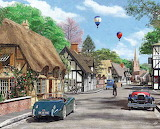 Cottage Lane - Dominic Davison