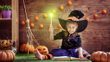 #Little Halloween Witch Mid-Spell