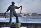 Newlyn Fisherman Statue, Kernow