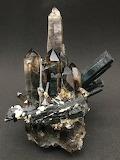 """Tumblr """"A love for Minerals"""" Aegirine, Smoky Quartz & Arfvedoson"""