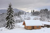 Evgeni Dinev Photography Winter Cabin