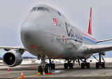 Cargolux 50th Anniversary 747 Freighter