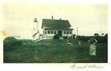 Vintage photo of Bakers Island Light Station