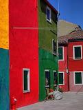 Burano island-colored houses