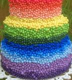 Rainbow cake @ Elo7