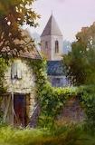 English Cottage ~ Roland Lee