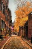 Autumn side street