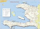 Haiti Kaart