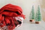 Knitting and Christmas trees