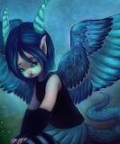 Half fairy dragon girl by selvagemqt ddjnucg-fullview