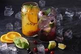 Lemonade Orange Fruit Lime Drinks Ice