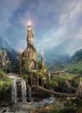 Fantasy-landscape-Wizards-Tower