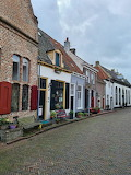 The colorful streets of Doesburg