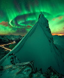 "Science tumblr astronomyblog ""Aurora over Svolear, Norway"" ""Max"