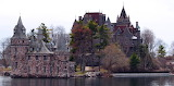 1904 Boldt Castle Pier and Main House New York