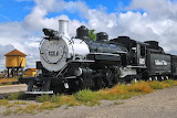 Cumbres and Toltec Locomotive #495
