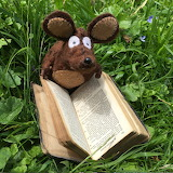 Minimus reading an old book