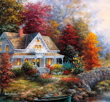 Cozy Autumn Cottage ~ Nicky Boehme