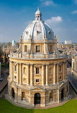 Radcliffe Camera, Oxford University, England