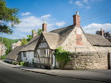 Gloucestershire, Wotten-under-edge, Ancient Ram Inn